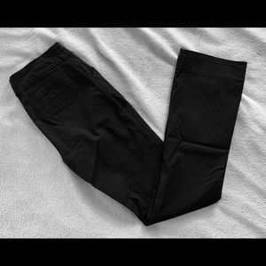 Reitmans petite straight leg dress pants in black